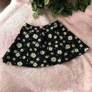 90s Vibe Floral Skirt